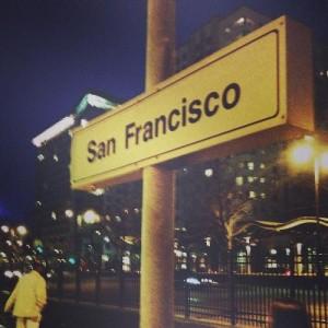 San Francisco Street sign