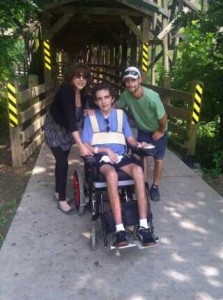 Kim, Anthony and Michael enjoy a day in the Buckhead's newest park