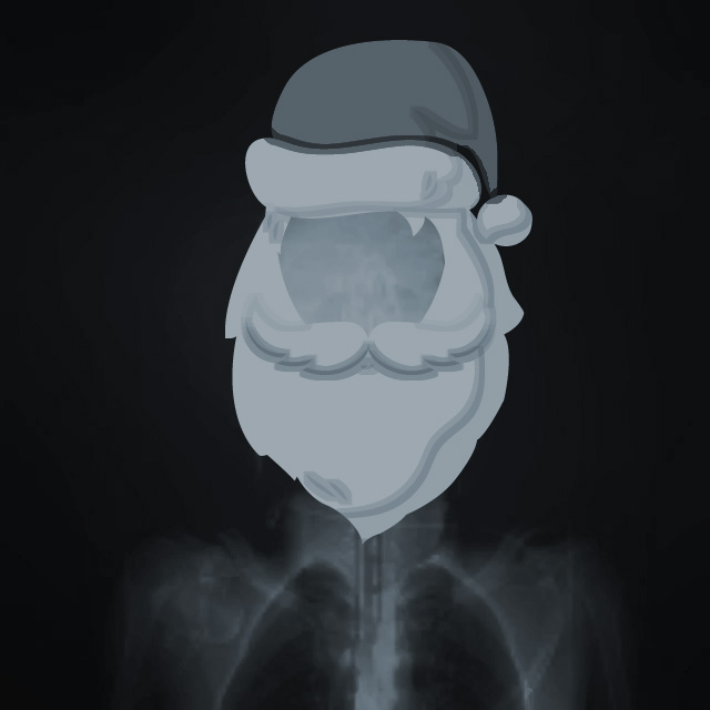 Palo Alto Hospital Holiday Xray